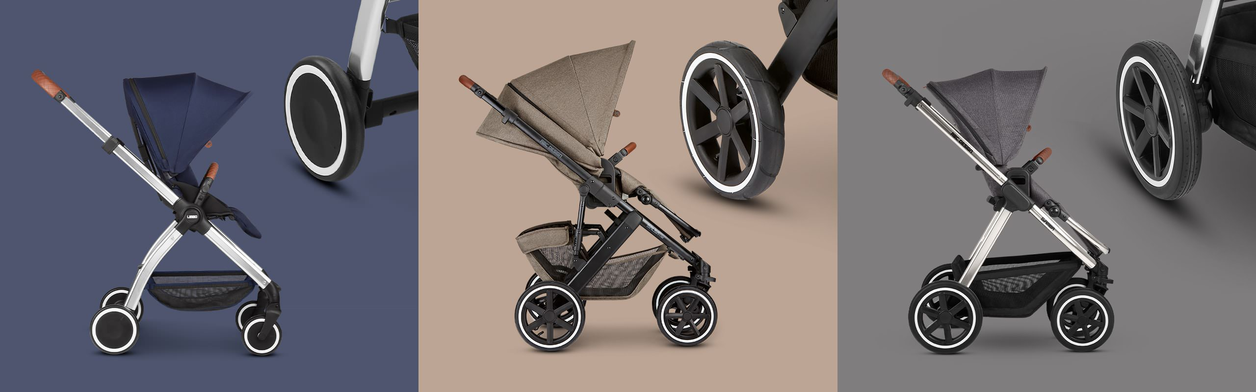 The right wheels for your pushchair